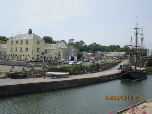 Cycle to Charlestown in Cornwall