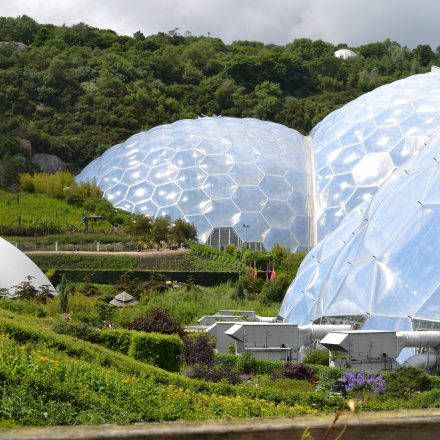 Cycle to the Eden Project, in Cornwall