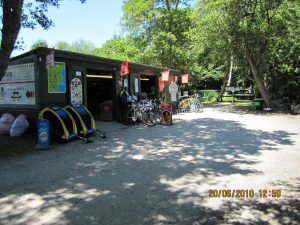 Pentewan Cycle Hire Centre in Cornwall